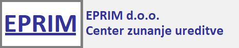Izdelava spletne strani EPRIM